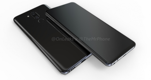 LG G7 ThinQ, evleaks pubblica il render completo