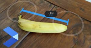 Google ARCore misuramenti