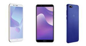 Huawei Y5, Y6, Y7 2018