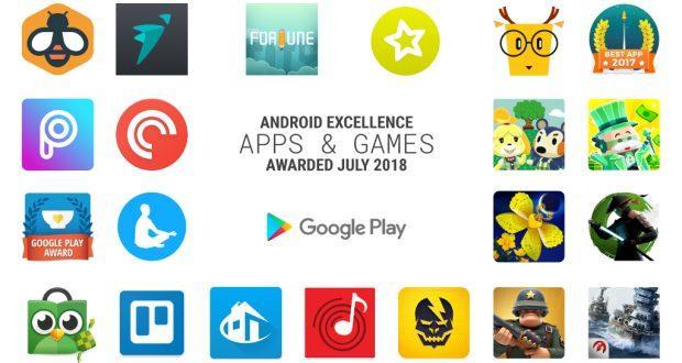 Eccellenze Android luglio 2018