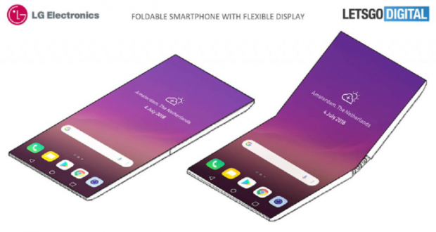 LG smartphone flessibile