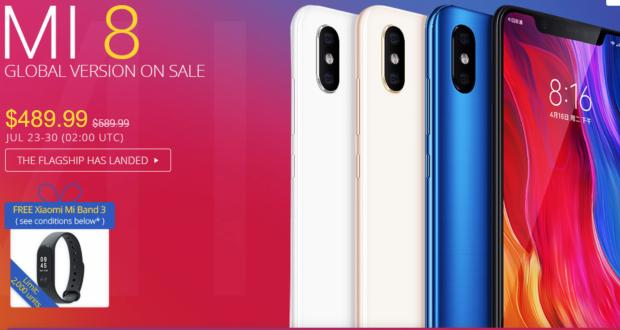 Xiaomi Mi 8 Gearbest