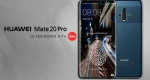 Huawei Mate 20 Pro concept