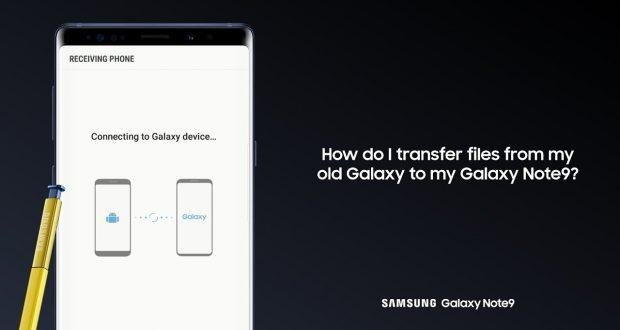Samsung Galaxy Note 9 Smart Switch
