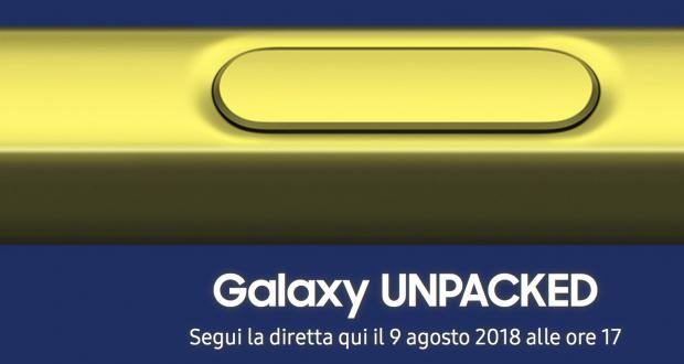 Samsung Galaxy Note 9 Unpacked 2018
