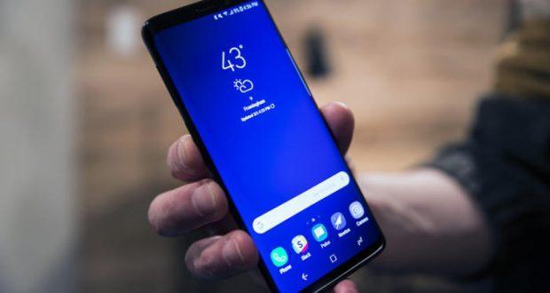 Samsung Galaxy S9+ con Android 9 Pie