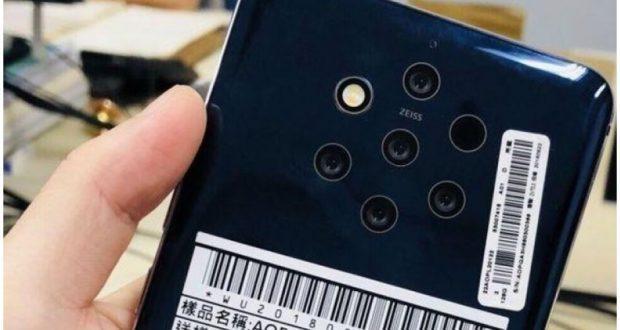 Nokia 9 PureView penta obiettivo
