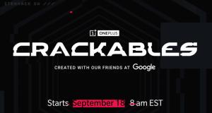 OnePlus e Google presentano Crackables