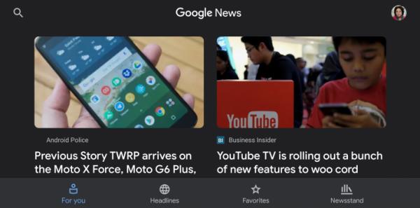 Google News 5.5