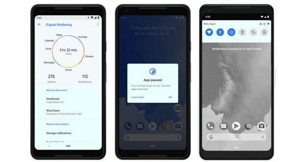 Google benessere digitale Android One