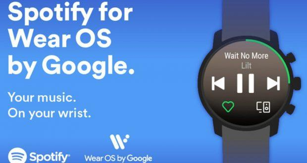 Spotify Wear OS