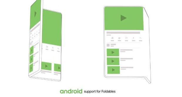 Android supporto smartphone flessibili
