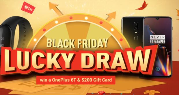 Lotteria Geekbuying Black Friday