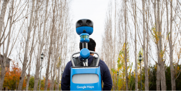 Google Street View equipaggiamento Trekker (1)