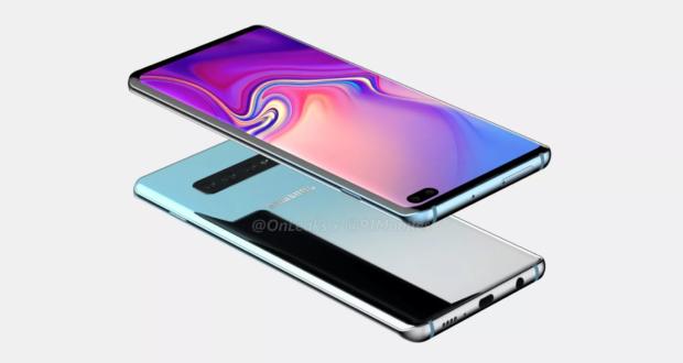Samsung Galaxy S10 Plus render