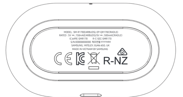 Samsung Galaxy Buds FCC