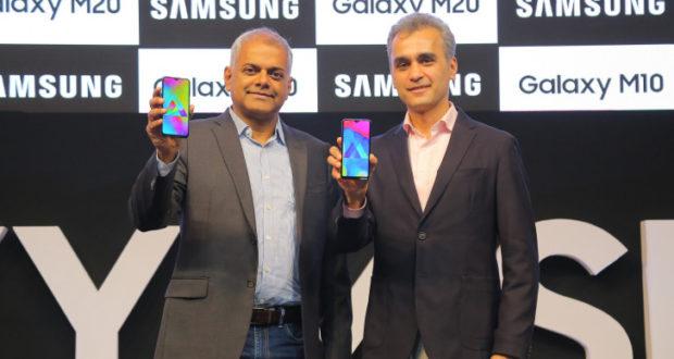 Samsung Galaxy M10 e Galaxy M20