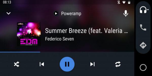 Poweramp Android Auto