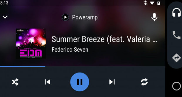 Poweramp Android Auto