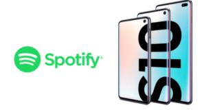 Samsung Galaxy S10 Spotify Premium