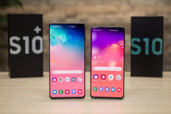 Samsung Galaxy S10 e Galaxy S10+