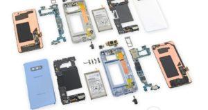 Samsung Galaxy S10 teardown