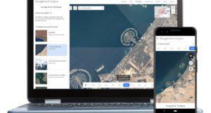 Google Earth Timelapse mobile