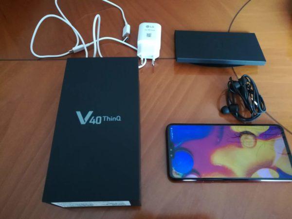 LG V40 ThinQ recensione