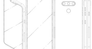 LG brevetto smartphone 3 fotocamere frontali