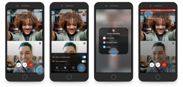 Skype condivisione schermo