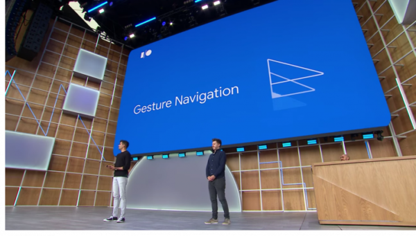 Android Q gesture