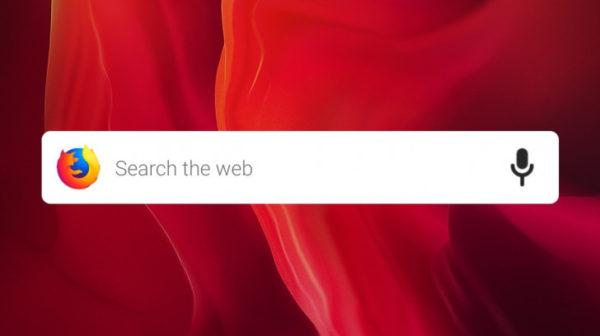 Firefox 67 widget