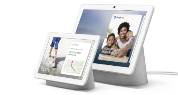 Google Nest Hub e Google Nest Hub Max