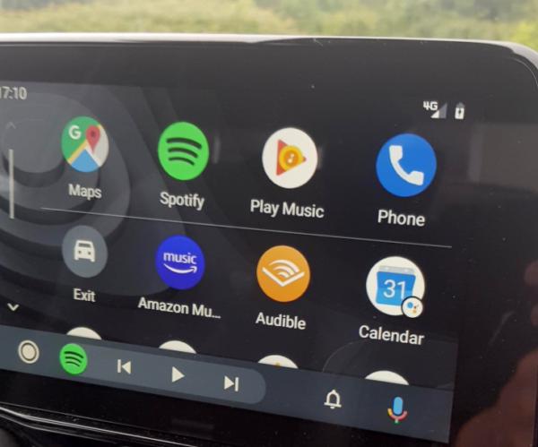 Android Auto nuova UI