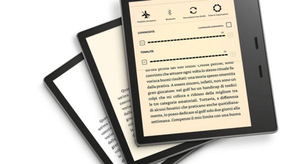 Nuovo Kindle Oasis 2019