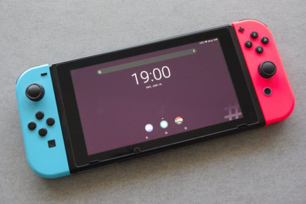 Nintendo Switch LineageOS 15.1 Android 8 Oreo