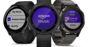 Amazon Music su sportwatch Garmin