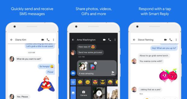 App Messaggi Android RCS