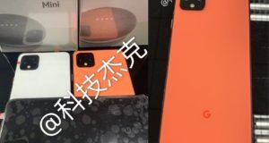Google Pixel 4 arancione