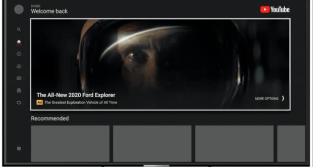 YouTube pubblicità TV
