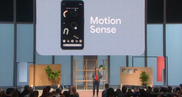 Google Pixel 4 Motion Sense