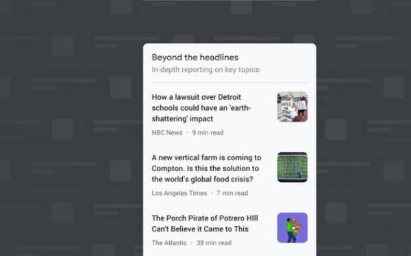 Google News Beyond the Headlines