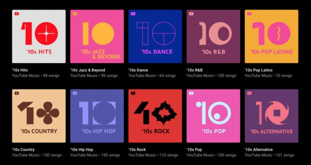 YouTube Music playlist '10
