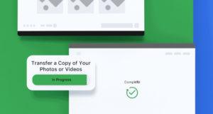 Facebook esportare su Google Foto