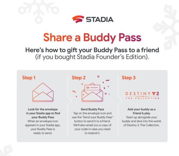 Google Stadia Buddy Pass extra