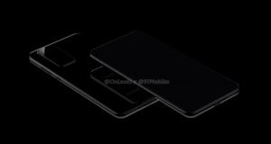 Huawei P40 e Huawei P40 Pro render