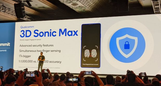 Qualcomm 3D Sonic Max