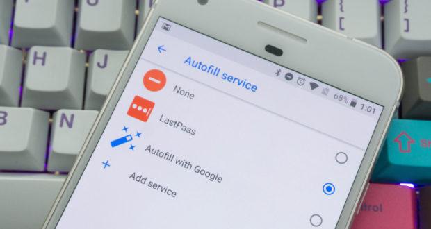 Android Autofill API