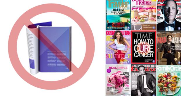 Google News sospende riviste