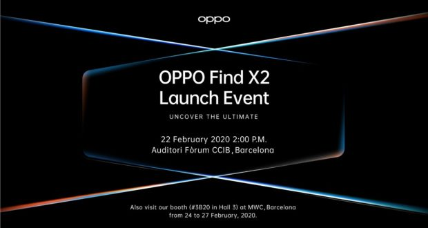 OPPO Find X2 presentazione MWC 2020